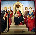 Sebastiano mainardi, madonna col bambino e santi, 1507-08, da museo di incisa, 01.JPG