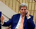 Secretary Kerry Calls IAEA Director General Amano to Thank Him For Work on Iran Nuclear Deal Implementation (23789751044) (cropped).jpg