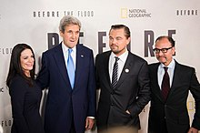 "Secretary Kerry Poses for a Photo With Leonardo DiCaprio and Fisher Stevens at Screening of ""Before the Flood"".jpg"