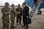 Secretary Pompeo Arrives at MacDill Air Force Base (48085100928).jpg