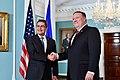 Secretary Pompeo Poses for a Photo With Honduran President Hernandez (42167633164).jpg
