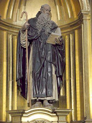 Saint Fructus - Image: Segovia Catedral, Capilla de San Frutos, San Valentin y Santa Engracia 4
