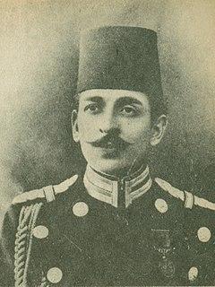 Şehzade Mehmed Abdülkadir Colonel in the Ottoman Army