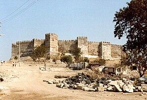 Zitadelle von Selçuk von Süden