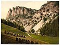 Semmering Railway to Krausel Krause (i.e., Krauselklause), Styria, Austro-Hungary-LCCN2002710979.jpg