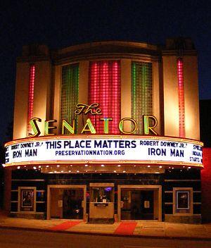 Mid-Govans, Baltimore - Senator Theater on York Road