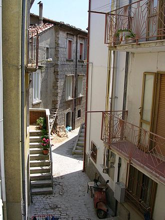 Sepino - A sidestreet in Sepino