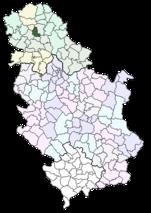 srbobran mapa Srbobran (općina) – Wikipedija srbobran mapa