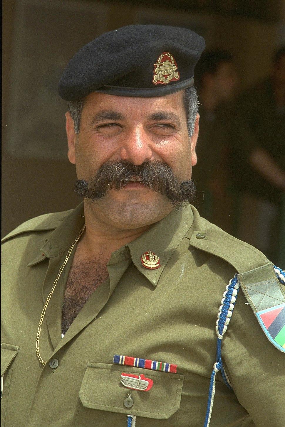 "Sergeant major Eliyahu Mugrabi.רס""ר אליהו מוגרבי"