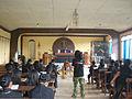 Sermon at the funeral, Tana Toraja, Indonesia.jpg