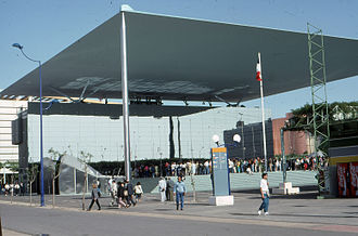 Jean-Paul Viguier - French Pavilion, Sevilla Expo '92