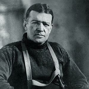 Sir Ernest Shackleton taken during the Imperia...