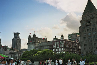 "I. M. Pei - Pei describes the architecture of Shanghai's Bund waterfront area (seen here in a 2006 photo) as ""very much a colonial past""."