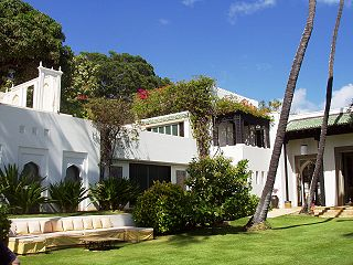 Shangri La (Doris Duke) Islamic-style mansion in Hawaii