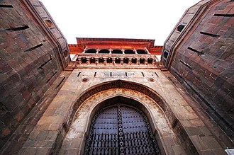 Baji Rao I - Shaniwarwada palace fort in Pune was built as the seat of the Peshwa rulers during Bajirao's reign.