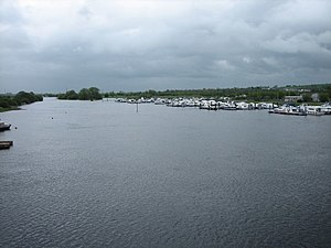 Banagher - River Shannon from Banagher Bridge