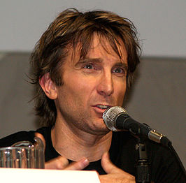Sharlto Copley op Comic Con 2009.
