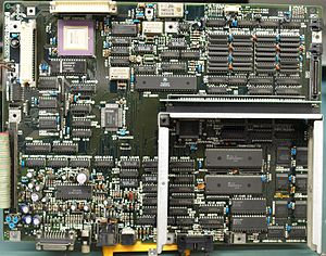 X68000 - Sharp X68000 Computer Main Processor Board. Original 1987 CZ-600C model