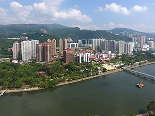 Sha Tin New Town Place in New Territories, Hong Kong