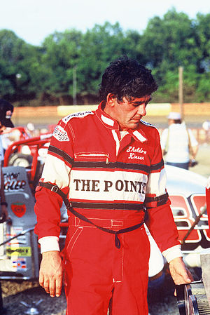 Sheldon Kinser - Sheldon Kinser at a sprint car race in Hagerstown, Maryland in 1986
