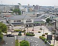 Shimodate station from SPICA building.jpg
