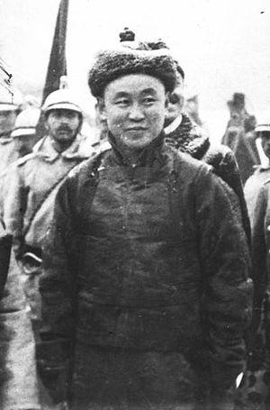 Mongolian Revolution of 1911 - Prince Namnansüren