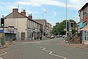 The centre of Upton Village
