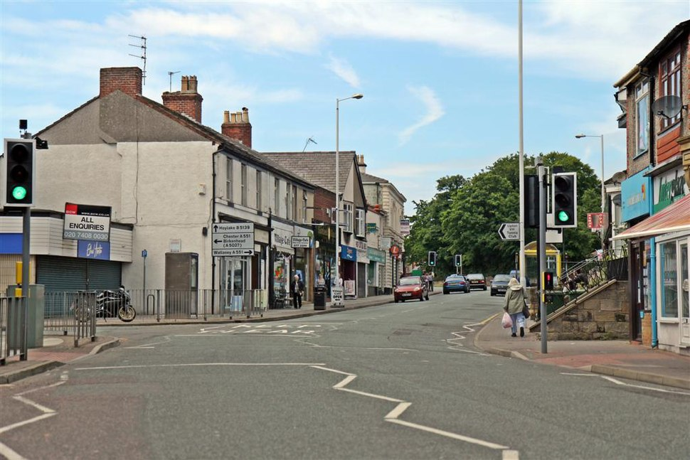 Shops, Ford Road, Upton Village (geograph 2989845)