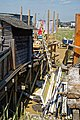 Shoreham-by-Sea Riverside Moorings, jetty deck construction, West Sussex.jpg
