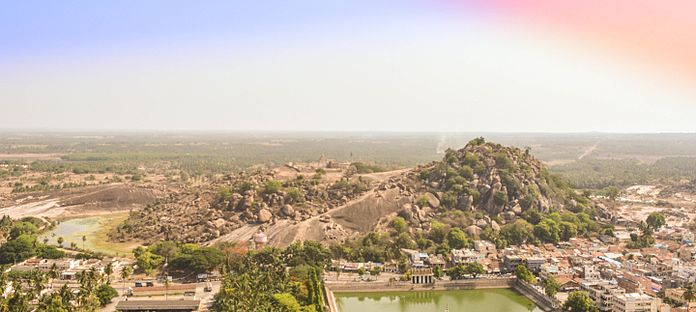 Shravanabelagola JainTemple View.jpg