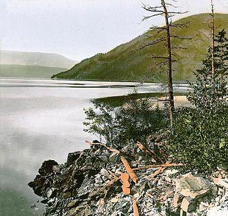 Sicamous - Image: Shuswap Lake BC 1889