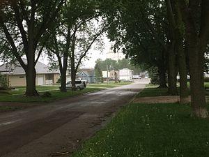 Kingsley, Iowa - Image: Side street view in Kingsley, Iowa