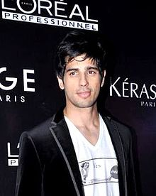 Sidharth Malhotra - Wikipedia, the free encyclopedia