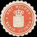 Siegelmarke Amt Wulfen W0342606.jpg