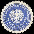 Siegelmarke Bürgermeister - Amt Sohren zu Büchenbeuern - Kreis Zell W0245451.jpg