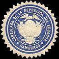 Siegelmarke Consulado de la Republica del Ecuador - Hamburgo W0223542.jpg