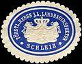 Siegelmarke Fürstlich Reuss j.L. Landbauinspektor - Schleiz W0255370.jpg