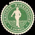 Siegelmarke Gemeinde Markersdorf bei Chemnitz W0252684.jpg