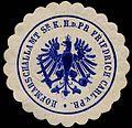 Siegelmarke Hofmarschallamt Seiner Königlichen Hoheit des Prinzen Friedrich Carl von Preussen W0204523.jpg
