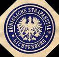 Siegelmarke Königliche Strafanstalt - Lichtenburg W0215782.jpg