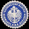 Siegelmarke Kaiserliche Marine - Kommando der S.M.S. Blücher W0262546.jpg