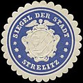 Siegelmarke Siegel der Stadt Strelitz W0349179.jpg