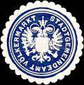 Siegelmarke Stadtgemeindeamt Völkermarkt W0318523.jpg