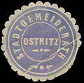Siegelmarke Stadtgemeinderath Ostritz W0392342.jpg