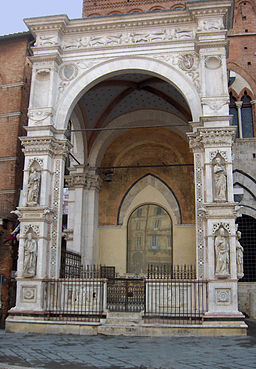 Cappella di Piazza, Piazza del Campo