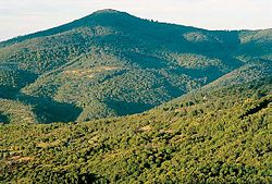 Sierra de las Villuercas mountains.