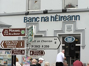 Signs in Irish. Totally confusing to me, but I...