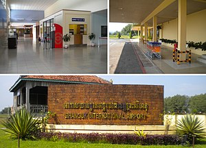Sihanoukville airport montage