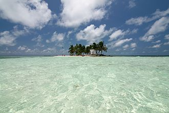 Gladden Spit and Silk Cayes Marine Reserve - Image: Silk Caye, Stann Creek, Belize