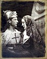 Sir Galahad and the Nun, by Julia Margaret Cameron, M197400870008.jpg